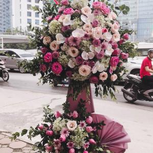 hoa lẵng đẹp