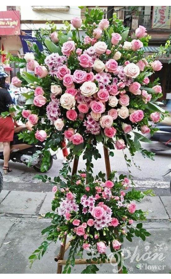 những lẵng hoa đẹp