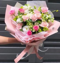 Mẫu hoa sinh nhật đẹp Q502